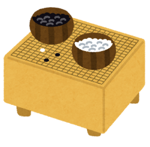 igo_set 囲碁 碁盤