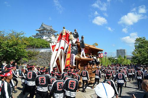岸和田だんじり祭り2016の日程は?9月祭礼と10月祭礼はどう違う?