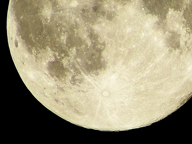 月面 月の表面