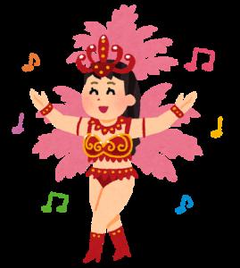 dance_samba_woman サンバの女性
