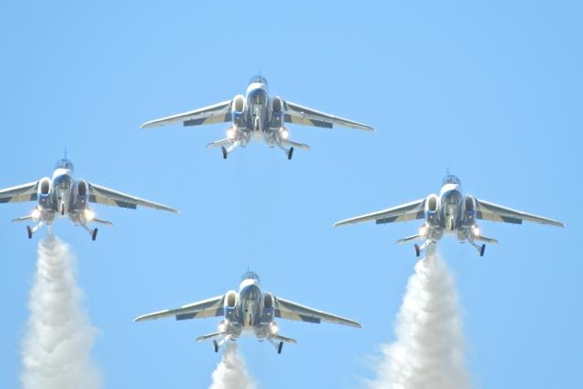 ブルーインパルス 三沢航空祭