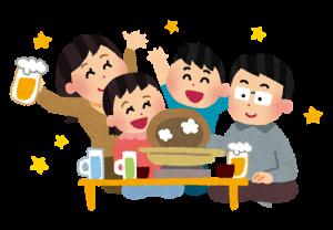 bounenkai_family 鍋 家族パーティー