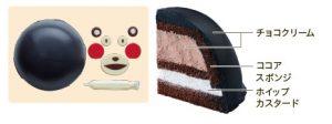 くまモンのケーキ