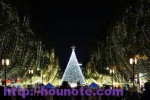 多摩センターイルミネーション クリスマスツリー