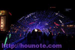 多摩センターイルミネーション 光の水族館