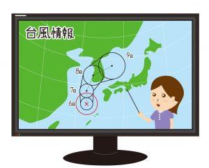 台風 進路図 予報