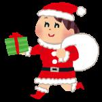 christmas_santa_woman サンタクロース 女の子