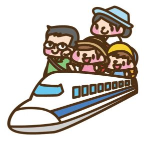 新幹線 帰省