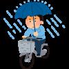 自転車通学用レインコートの選び方6つのポイント、盗難対策も。