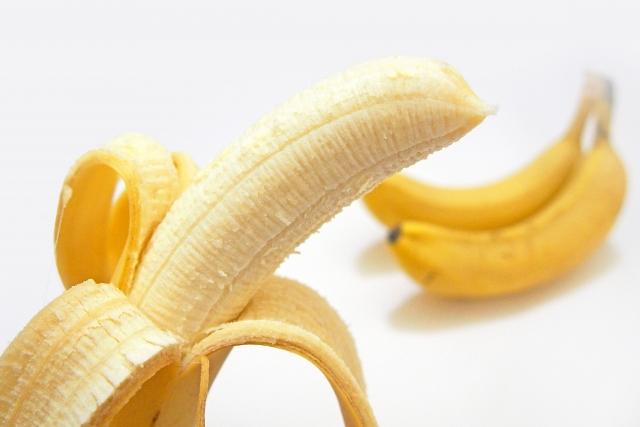 冷蔵庫でバナナを保存