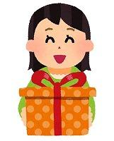 present_girl 女性からのプレゼント