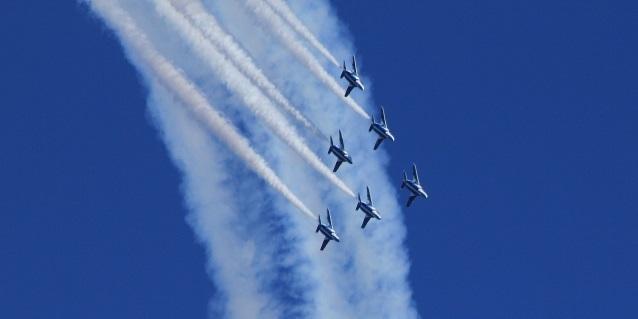 入間航空祭 ブルーインパルス