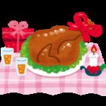 クリスマスにチキンを食べる理由!牛でも豚でも七面鳥でもないワケは・・・