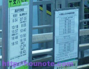 2016-11-20 08.00.16-02 大菩薩 バス時刻表
