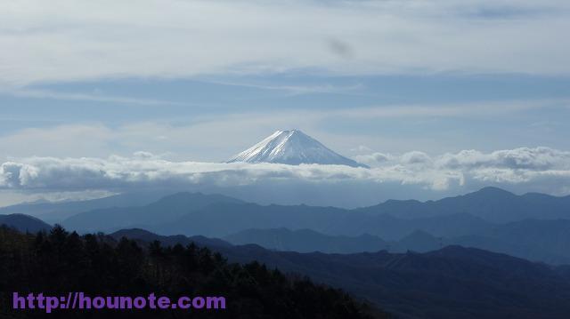 2016-11-20 11.12.49 大菩薩 富士山を望む