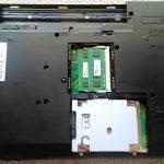 内蔵HDDより小容量のSSDに換装した手順。富士通LIFEBOOK A561/D