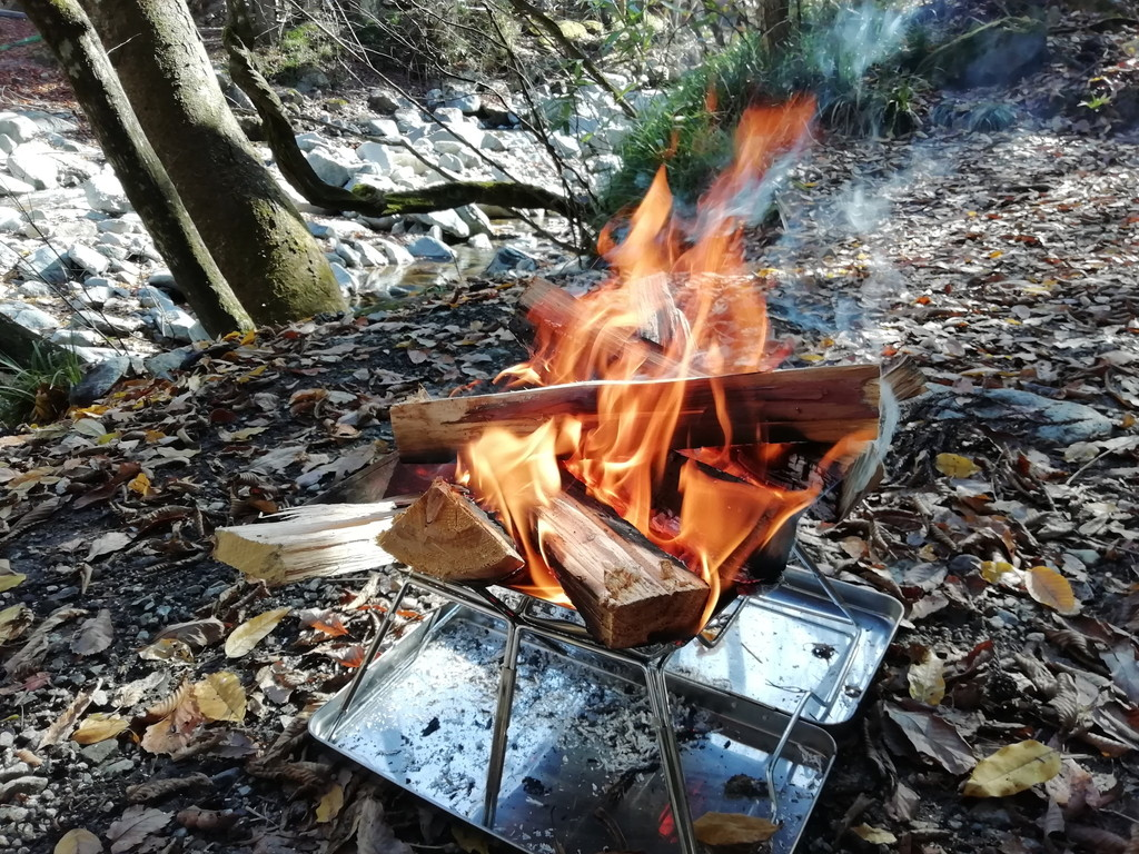 焚き火 デイキャンプ